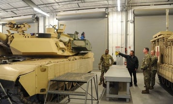 Here's your first look at the Army's new M1 Abrams variant