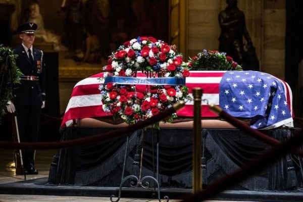 Bill would allow last World War II Medal of Honor recipient to lie in state at Capitol