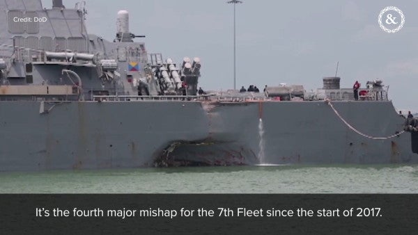 Admirals vow not to force undermanned, untrained sailors to deploy following deadly collisions