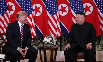 Trump and North Korea's Kim predict success in high-stakes nuclear summit