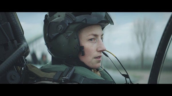 The Royal Air Force gives a middle finger to female stereotypes in its new recruiting commercial