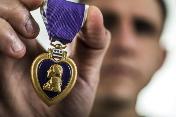 Purple Heart recipients will move to front of line for VA claims, Wilkie says
