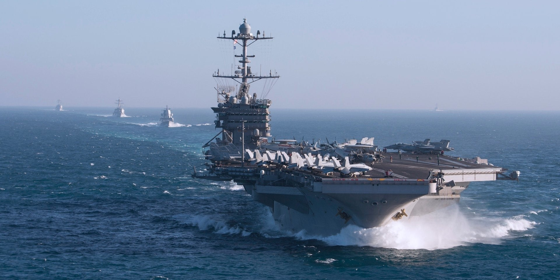 The Pentagon will reportedly retire an aircraft carrier 2 decades early to save money