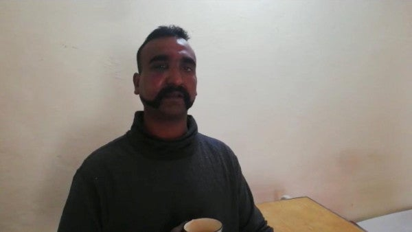 This Indian pilot was shot down and captured in Pakistan. Now he's the face of the escalating crisis between the countries