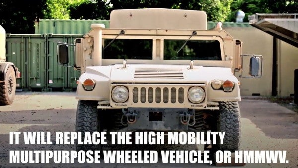 God help us all, the Marines have the JLTV