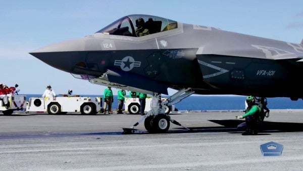 The Navy's first carrier-based F-35 fighters are finally ready for a fight