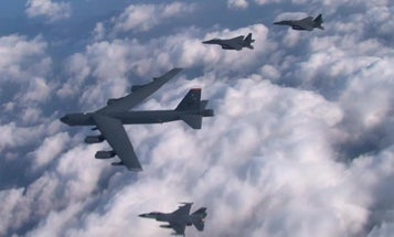 The Air Force's B-52 bombers are getting the ability to drop smart bombs like never before
