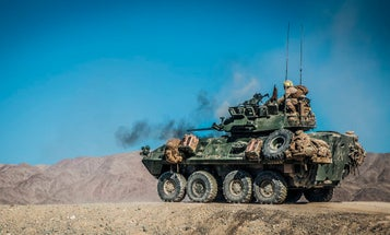 The Marine Corps wants to equip armored recon units with long-range precision fires