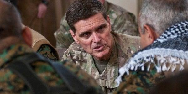 CENTCOM commander Gen. Votel: ISIS will be back