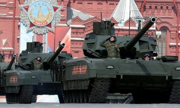 Russia is installing toilets in the wildly expensive T-14 Armata battle tanks it can't afford