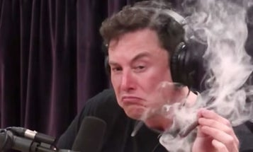 Elon Musk's security clearance is under review for smoking weed on Joe Rogan's podcast