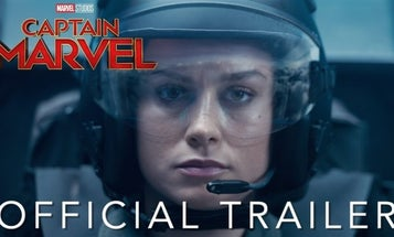'Captain Marvel' is here to punch you in the face and energy blast your ass right into the nearest Air Force recruiting office