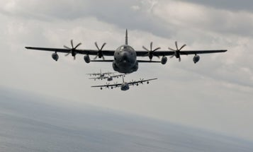 Air Force gets first upgraded 'Ghostrider' gunship