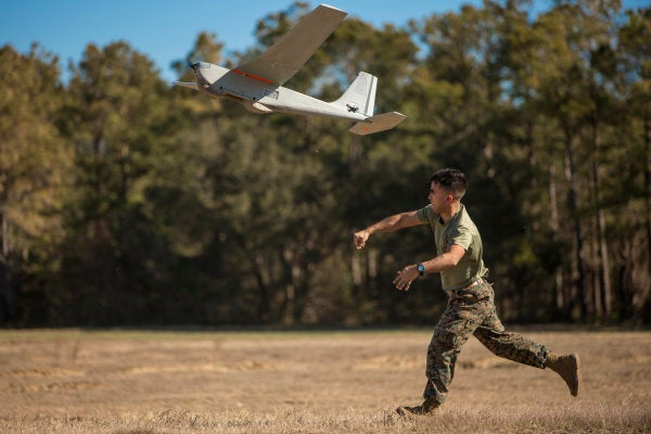 The Pentagon wants to know if a swarm of drones can swoop in to help with hurricane relief