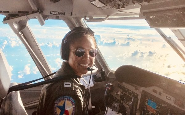 This Coast Guard pilot braved a hurricane — and made history in the process