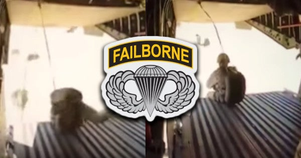 African paratroopers can't jump good