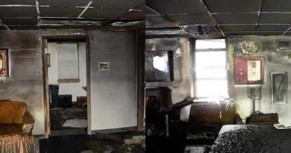 That 'mysterious fire' at 1st Battalion, 6th Marines HQ resulted in $100,000 of damages, and is officially 'suspicious'