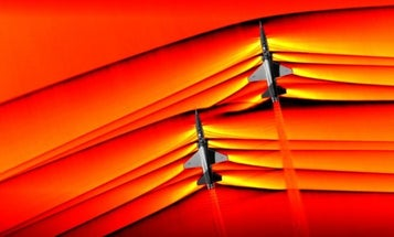These groundbreaking photos of Air Force jets creating supersonic shockwaves are trippy as hell