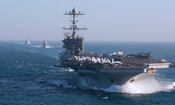 The Navy wants to ditch an aircraft carrier to buy new weapons for a next-level fight with China
