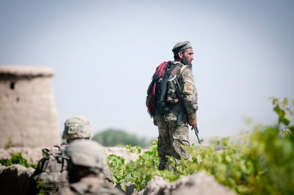 US 'friendly fire' air strike wipes out Afghan military checkpoint