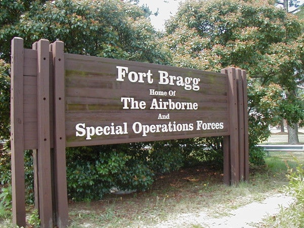 Fort Bragg shuts down gate after foreign national refuses to give ID and tries to enter base