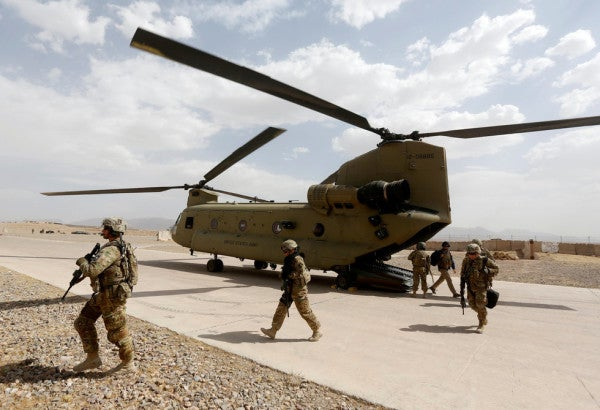 The US and Afghanistan are publicly beefing over peace talks with the Taliban