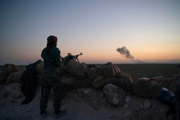 Just 'a few hundred' ISIS fighters left in final Syria battle, US envoy says