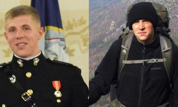 Search scaled back for Marine lieutenant missing in California mountains for nearly 2 weeks