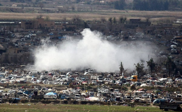 The battle rages for the last ISIS enclave in Syria