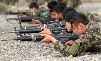 The US still can't effectively track weapons and vehicles given to Afghan security forces
