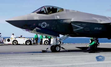 The Navy says its F-35C is ready for a fight. The Navy's own data says otherwise
