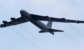 US B-52s train with Ukrainian fighter jets near Crimea in an 'in your face' message to Russia