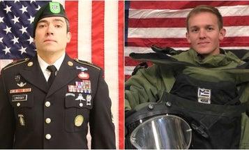 Pentagon identifies 2 soldiers killed in Afghanistan as Green Beret, EOD tech