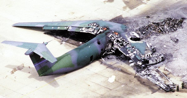 Paratroopers mark 25 years since the Green Ramp disaster