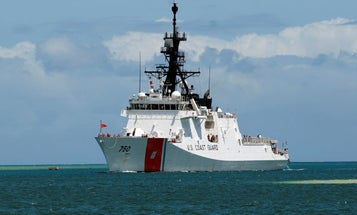 US Navy, Coast Guard ships pass through strategic Taiwan Strait in message to China