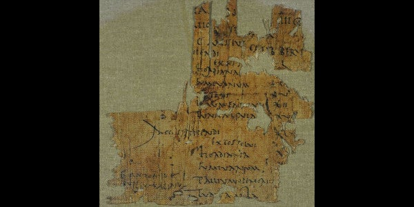 This Roman soldier's 1,900-year-old payslip confirms the green weenie is immortal