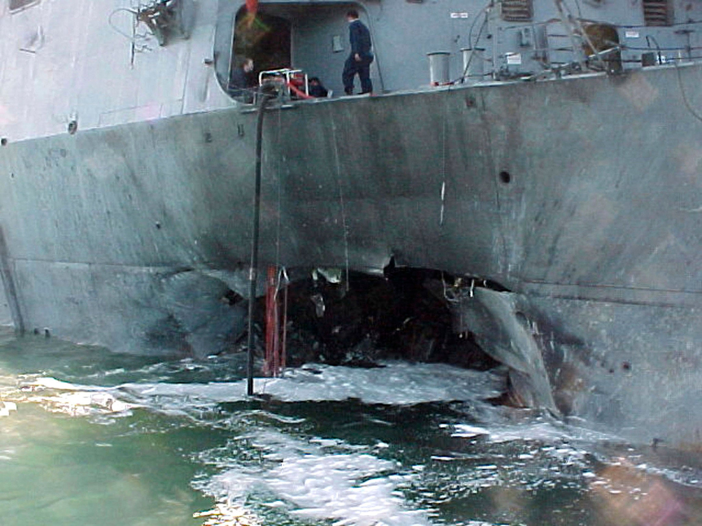 20 years after the attack on the USS Cole, memories of heroism and loss