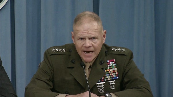 Marine Lt. Gen. David Berger nominated to be the Corps' next commandant