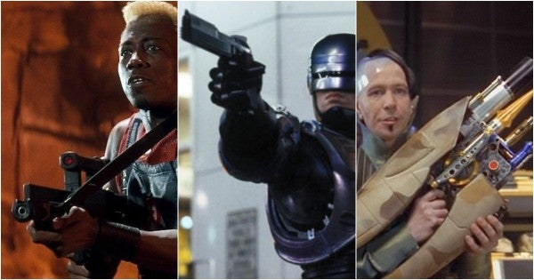 27 of your favorite fictional firearms, ranked