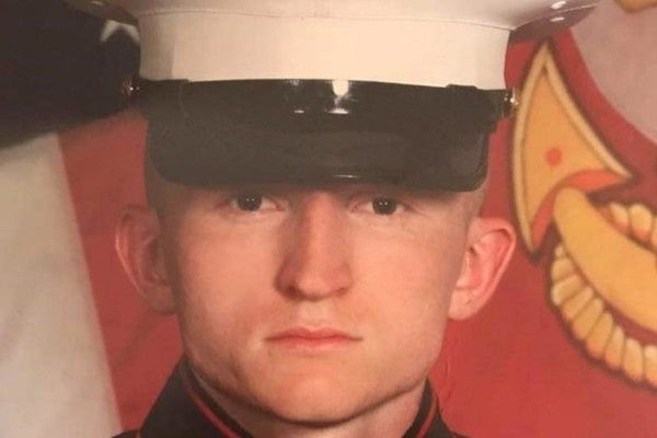 Family of Marine who died standing watch dispute Corps' suicide ruling