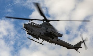Two Marine pilots killed in helicopter crash