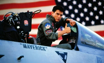 The Navy's 'Top Gun' aviators have to cough up $5 if they quote the film, according to a former instructor