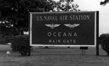 Gunman killed, female sailor wounded in 'domestic shooting' at Naval Air Station Oceana
