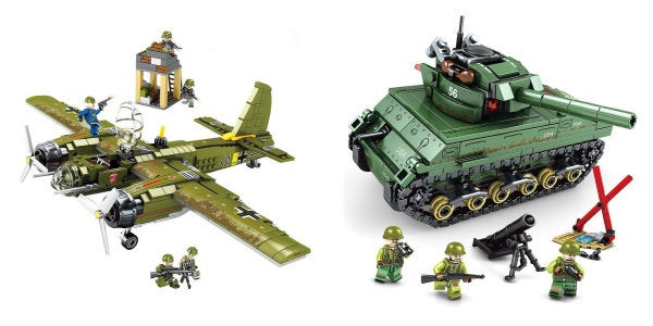 Storm the blocky beaches of Normandy with these excellent WWII Lego knock-offs