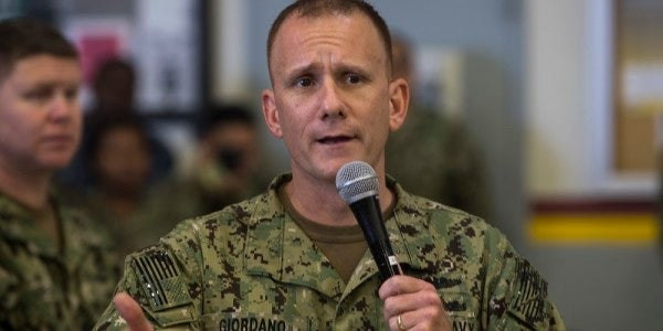 Navy's former top enlisted leader bawled out staff, made sailors fetch coffee, investigation finds