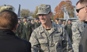 Head of the California Air National Guard dismissed after alleged cover-up in 'pissgate' scandal