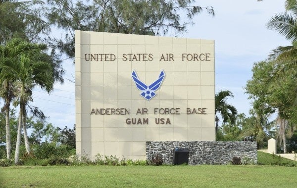 Andersen Air Force Base was sanitizing drinking water with a pesticide used in swimming pools