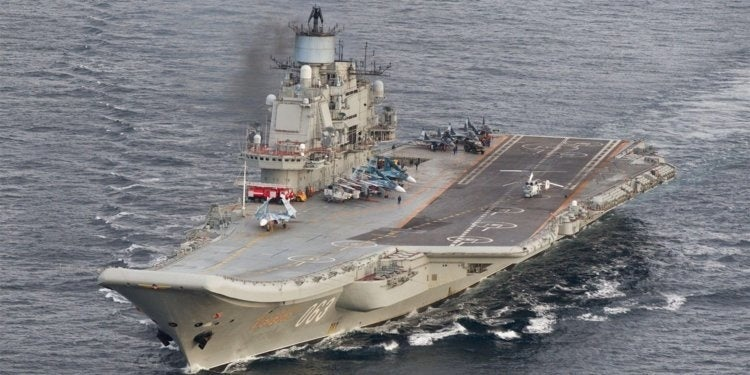 Russia may finally put its godawful sh*theap of an aircraft carrier out of its misery