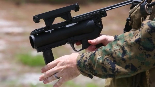 Marines are finally getting the grenade launcher that civilians have rocked in 'Battlefield' for a decade