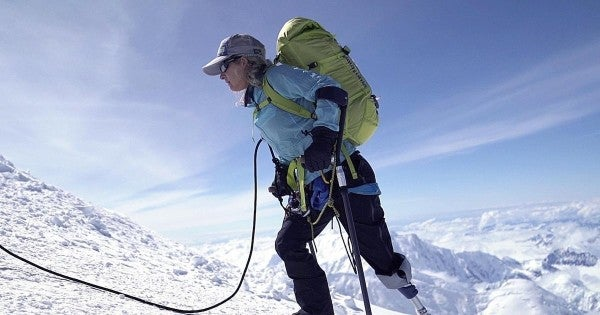 Wounded warrior Kirstie Ennis is on a mission to conquer Mount Everest